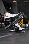 Чоловічі кросівки Nike Air Max 720 (чорно/білі) KS 1493, фото 5