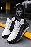 Чоловічі кросівки Nike Air Max 720 (чорно/білі) KS 1493, фото 7