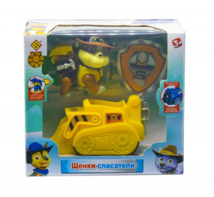 Набор «Щенячий патруль» CH Toys Крепыш (транспорт с фигуркой) JD-909