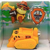 Набор «Щенячий патруль» CH Toys Крепыш (транспорт с фигуркой) JD-909, фото 2