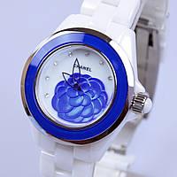 Женские керамические часы шанелька