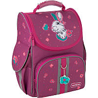 Школьный бордовый рюкзак Kite Education Bunny для девочек (K20-501S-7), фото 1