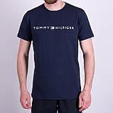 Чоловіча футболка TOMMY HILFIGER, кольору бордо, фото 3