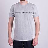 Чоловіча футболка TOMMY HILFIGER, кольору бордо, фото 4