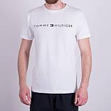 Чоловіча футболка TOMMY HILFIGER, кольору бордо, фото 6