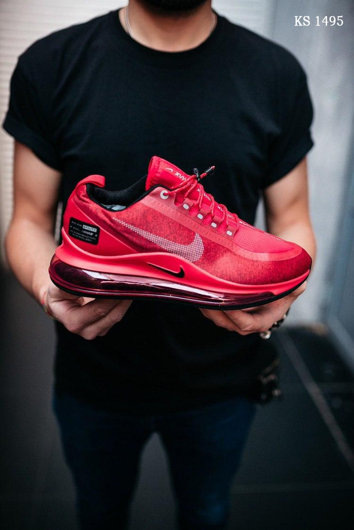 Чоловічі кросівки Nike Air Max 720 (червоні) KS 1495