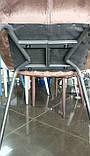 Стул барный B-140 серый вельвет 49х57х105 Vetro Mebel (бесплатная доставка), фото 8