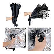 130/1300Вт Набір постійного світла FST 5769 LED softbox Easy Kit Bag, фото 7