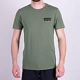 Чоловіча футболка Levi's, кольору бордо, фото 5