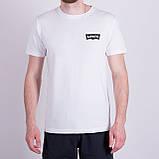 Чоловіча футболка Levi's, кольору бордо, фото 6