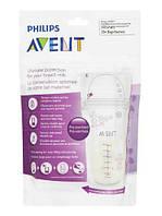 Пакеты для хранения молока 180мл, 25шт, Avent, SCF603/25
