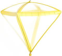 """Фол шар 24"""" АЛМАЗ прозрачный золотые грани 60 см (Китай)"""