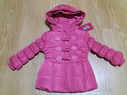 Курточка зимняя для девочки Mine 80 см Розовый Ю8, КОД: 1746651