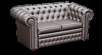 """Класичний подвійний малогабаритний диван Відень фабрики """" Біс-М з каретной стяжкою, фото 1"""