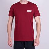 Чоловіча футболка Levi's, темно-синього кольору, фото 5