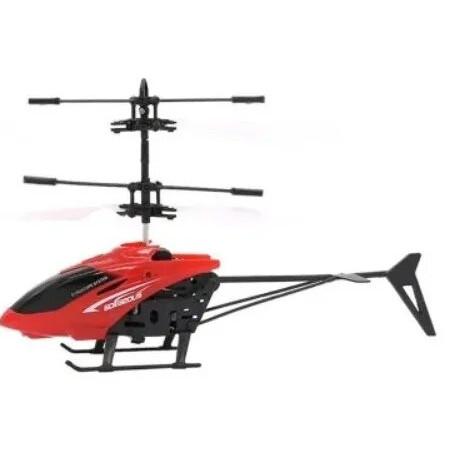 Летающий вертолет Induction aircraft Красный