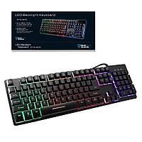 Клавиатура с подсветкой Keyboard ZYG-800