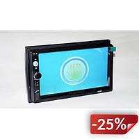 Автомагнитола Pioneer 7010 Короткая база 7 2DIN USB SD Bluetooth Черный (ml-81)