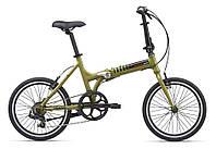 """Велосипед Giant - ExpressWay 2 (2020) (20""""-One size (165-185 см)) Оливковый"""