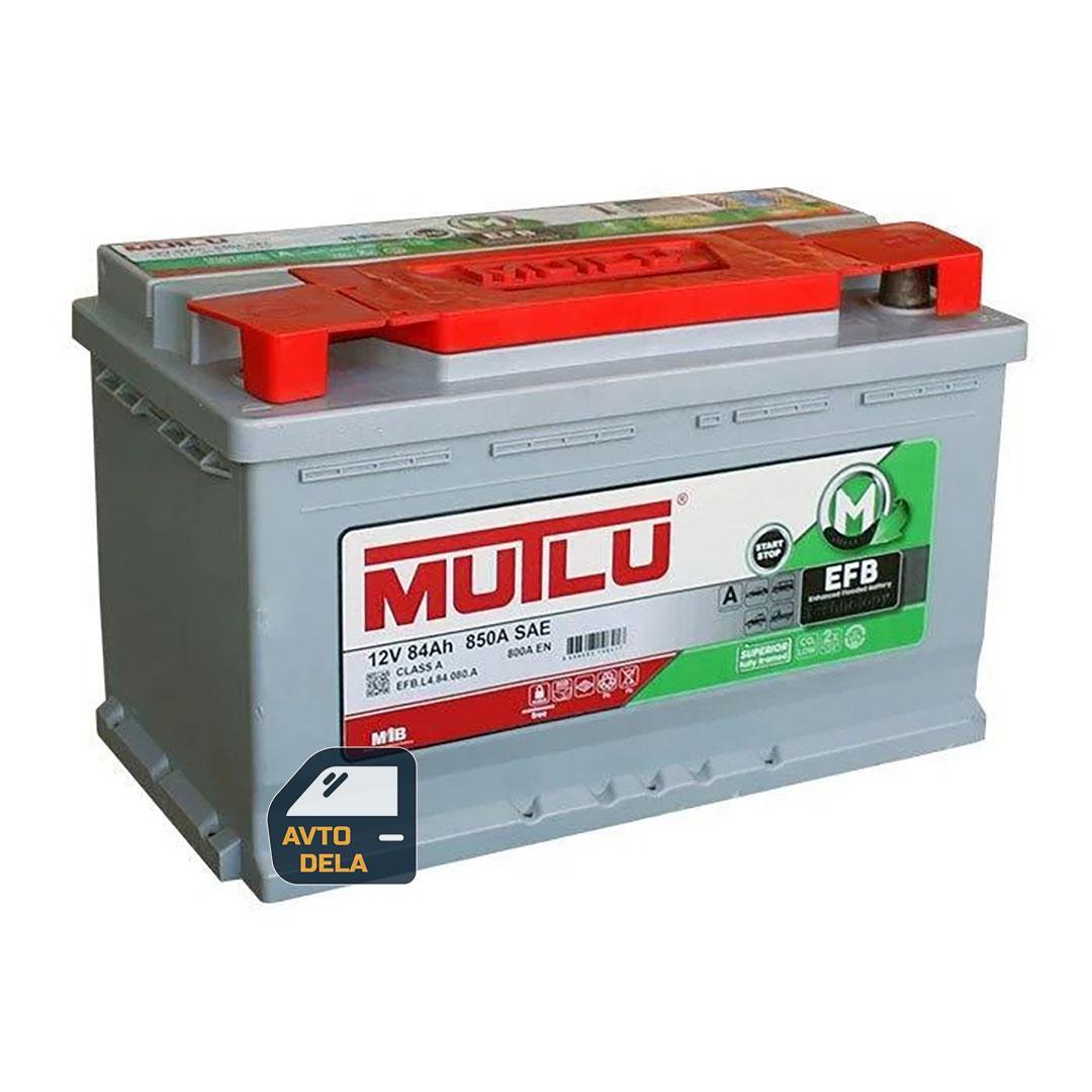 Аккумулятор автомобильный MUTLU EFB.L4.84.080.A 84AH EU