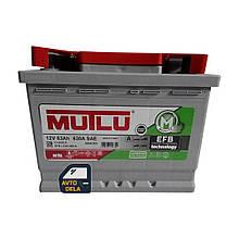 Аккумулятор автомобильный MUTLU EFB.L2.63.060A 63AH EU