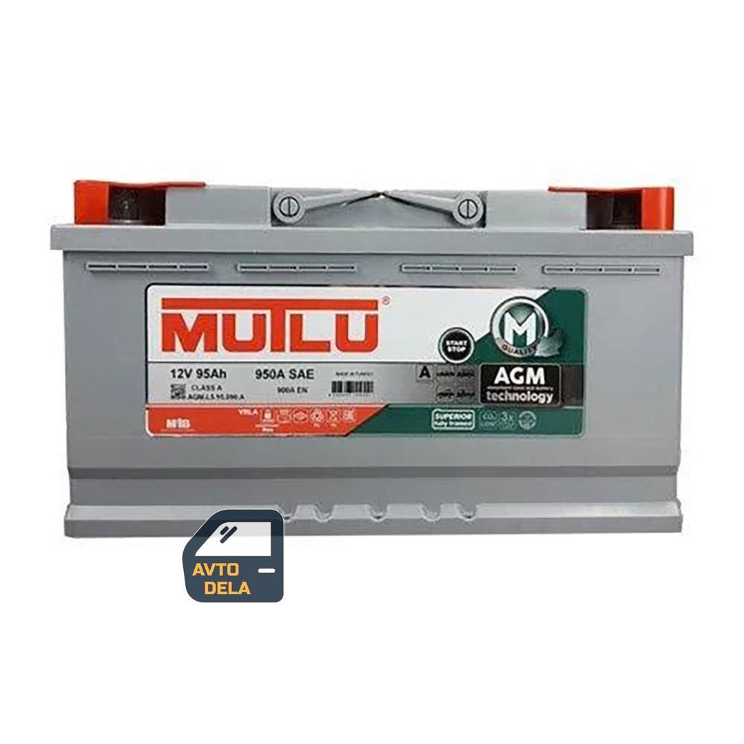 Аккумулятор автомобильный MUTLU AGM.L5.95.090.A 95AH EU