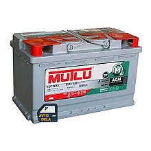 Аккумулятор автомобильный MUTLU AGM.L4.80.080.A 80AH EU