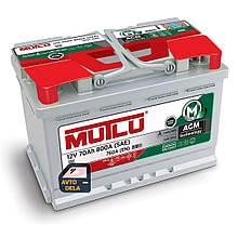 Аккумулятор автомобильный MUTLU AGM.L3.70.076.A 70AH EU