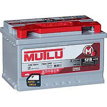 Аккумулятор автомобильный MUTLU LB3.75.072.A 12 V 75AH EU