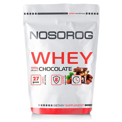 Протеин Nosorog Whey шоколад, 1 кг