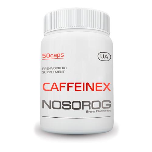 Кофеин Nosorog Caffeinex 50капс