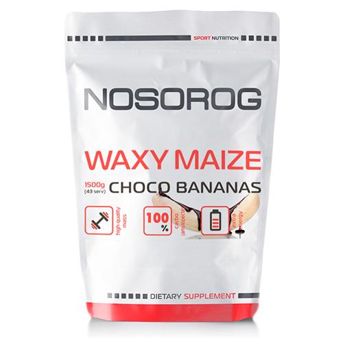 Углеводы Nosorog Waxy Maize шоко-банан, 1500 гр
