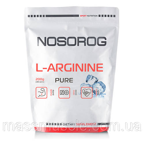 Аргинин Nosorog L-Arginine натуральний, 200 гр