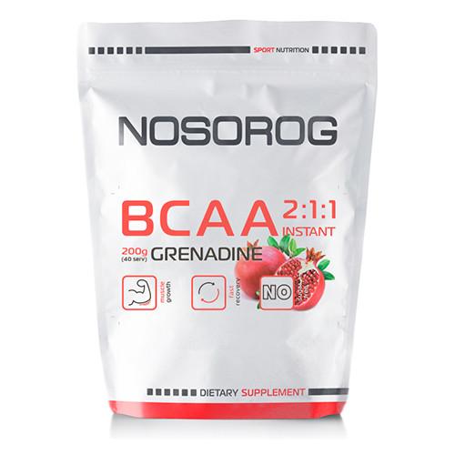 Аминокислоты Nosorog BCAA 2:1:1 гранат, 200 гр
