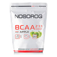 Аминокислоты Nosorog BCAA 2:1:1 яблоко, 200 гр