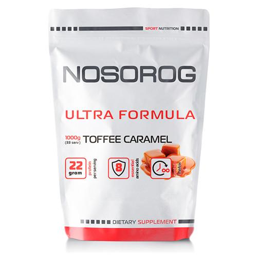 Купити протеїн (суміш сироватковий, казеїн, альбумін) Nosorig Ultra Formula тоффі-карамель, 1 кг