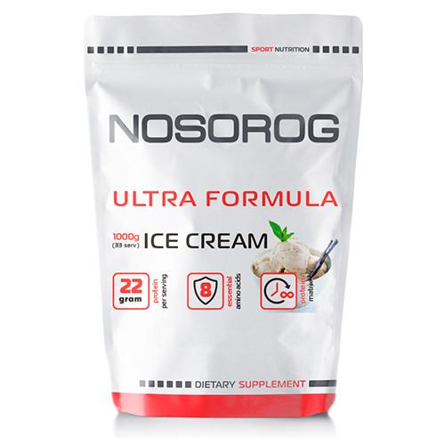 Протеин (смесь сывороточный, казеин, альбумин) Nosorog Ultra Formula ваниль, 1 кг