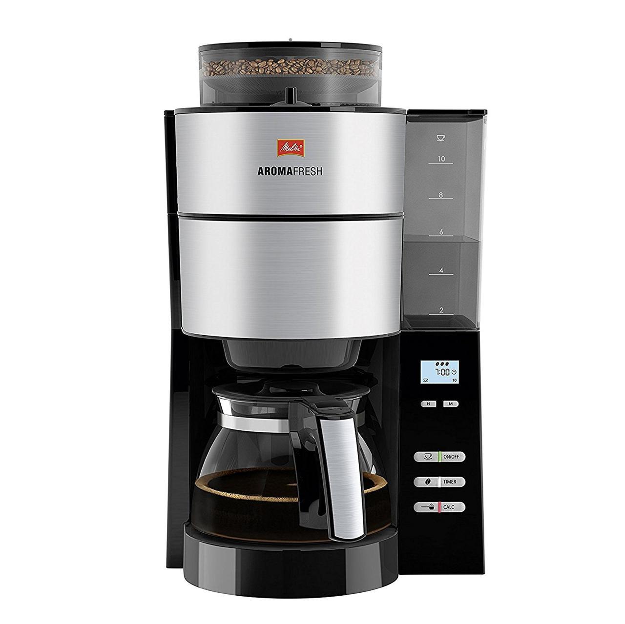 Кофеварка капельная с кофемолкой - Melitta AromaFresh 1021-01