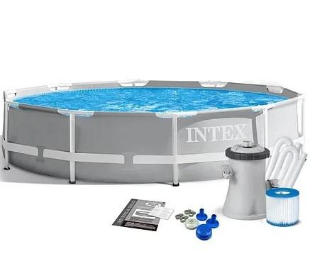 """Каркасный бассейн 26702 """"Intex"""" фильтр-насос,305-76 см"""