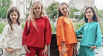 Трикотажный свитшот в разных расцветках ТМ Татьяна Филатова