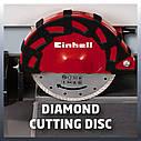 Плиткоріз електричний (радіальний) Einhell TE-TC 920 UL (Безкоштовна доставка), фото 3