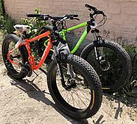 Велосипед алюминиевый внедорожник фэтбайк Kayot Best 26 (fatbike) 2020