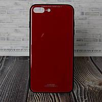 Бампер для IPhone 8+ красный T-Phox