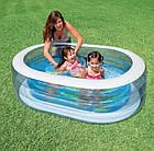 """Детский надувной бассейн """"Пираты"""", 163х107х46 см   Бассейн для детей Intex, фото 2"""