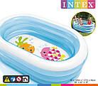 """Детский надувной бассейн """"Пираты"""", 163х107х46 см   Бассейн для детей Intex, фото 3"""