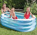 """Детский надувной бассейн """"Пираты"""", 163х107х46 см   Бассейн для детей Intex, фото 4"""