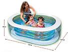 """Детский надувной бассейн """"Пираты"""", 163х107х46 см   Бассейн для детей Intex, фото 5"""