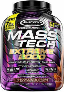 Гейнер MuscleTech Mass-Tech Extreme 2000 - 3100 г
