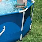 Каркасный бассейн Metal Frame 366х76 см, 6503 л, фильтр-насос 2006 л/ч | Бассейн Intex Frame, фото 2