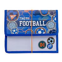 Папка для тетрадей Футбол YES на резинке пластиковая В5 Football 491799
